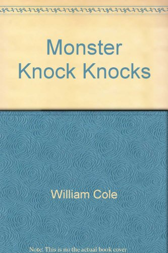 Monster Knock Knocks (Archway Paperback): n/a