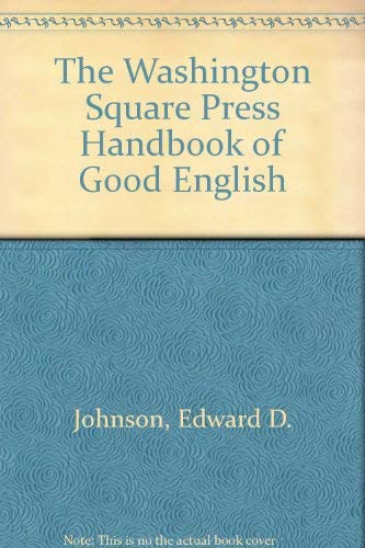 9780671442941: The Washington Square Press Handbook of Good English
