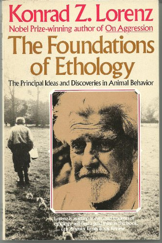 9780671445737: The Foundations of Ethnology: The Principle Ideas and Discoveries in Animal Behavior