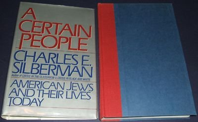 A Certain People : American Jews and Their Lives Today