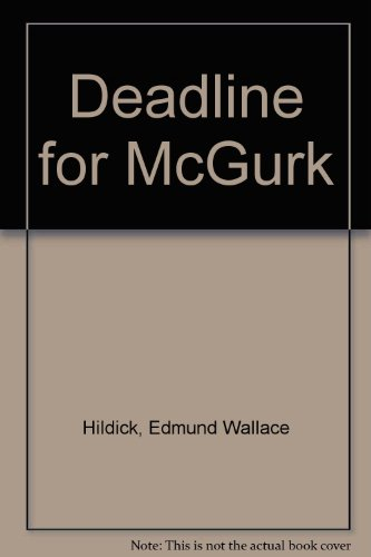 9780671448660: Deadline for McGurk