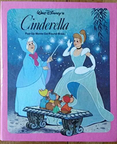 9780671448981: Walt Disney's Cinderella (Windmill Pop-Up Movie-Go-Round Book.)