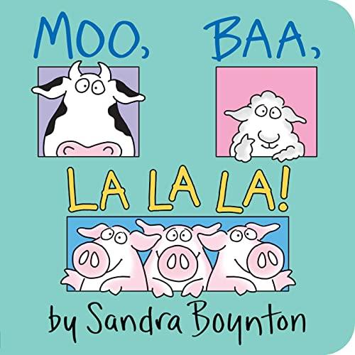 9780671449018: Moo Baa La La La (Boynton Board Books)