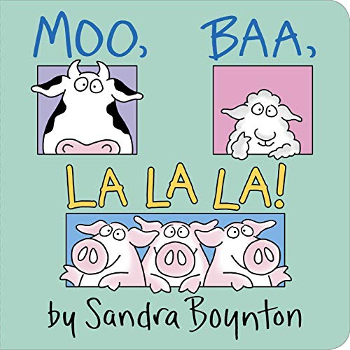 9780671449018: Moo, Baa, La La La! (Boynton on Board)