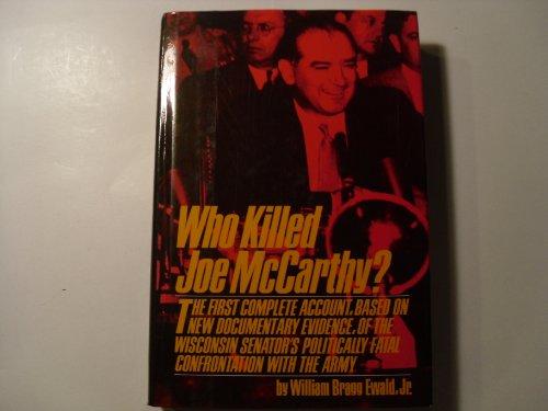 9780671449469: Who Killed Joe McCarthy?