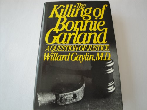 9780671449605: The Killing of Bonnie Garland