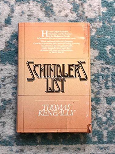 Schindler's List: Keneally Thomas