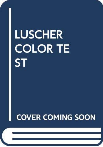 Luscher Color Test: Scott, Luscher