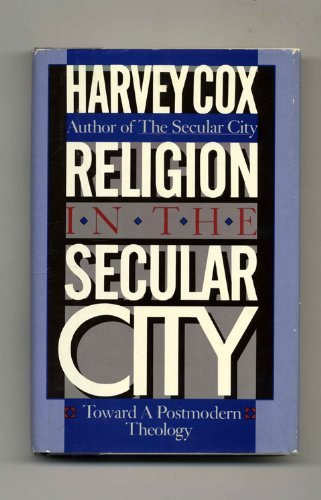 9780671453442: Religion in the Secular City: Toward a Postmodern Theology