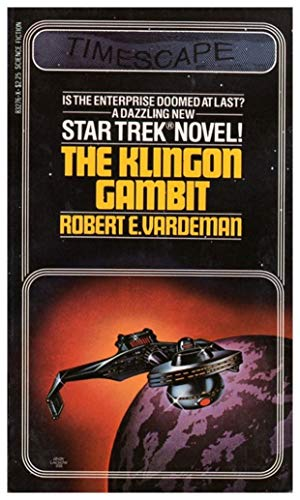 The Klingon Gambit (Star Trek, No 3): Vardeman, Robert E