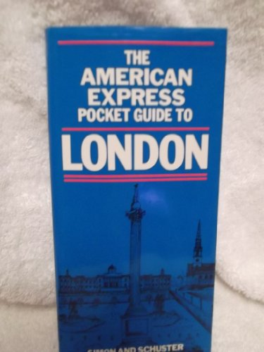 The American Express pocket guide to London: Jackson, Michael