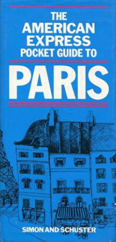 9780671453718: The American Express pocket guide to Paris