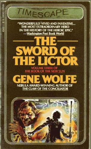 Sword of Lictor 9780671454500 The Sword of the Lictor is the third volume in Wolfe's remarkable epic, chronicling the odyssey of the wandering pilgrim called Severian, driven by a powerful and unfathomable destiny, as he carries out a dark mission far from his home.