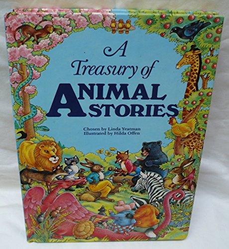 9780671456320: A Treasury of animal stories