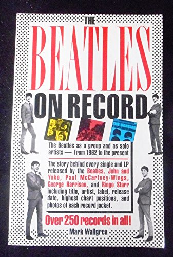 9780671456825: The Beatles on Record