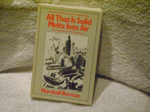 9780671457006: All That Is Solid Melts into Air