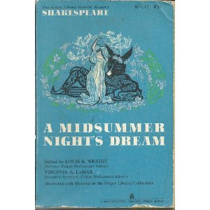 9780671457235: A Midsummer Night's Dream (The Folger Library General Reader's Shakespeare)