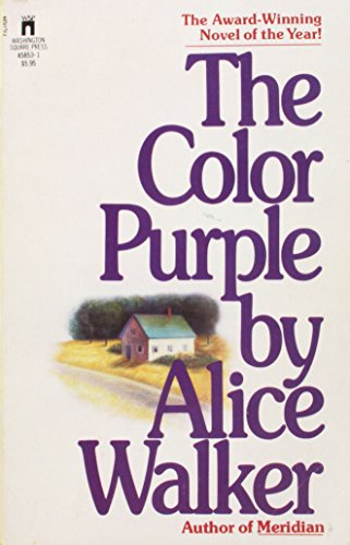 The Color Purple By Walker Alice Washington Square Press