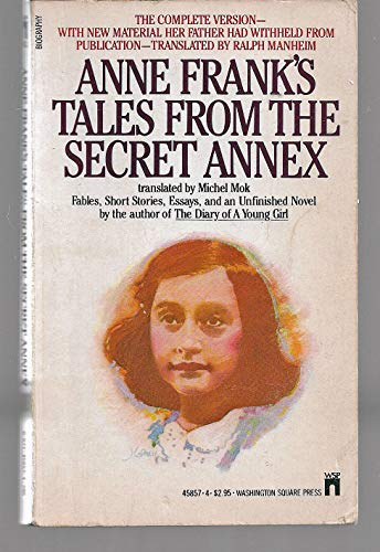 9780671458577: Title: Anne Franks Tales from the Secret Annex