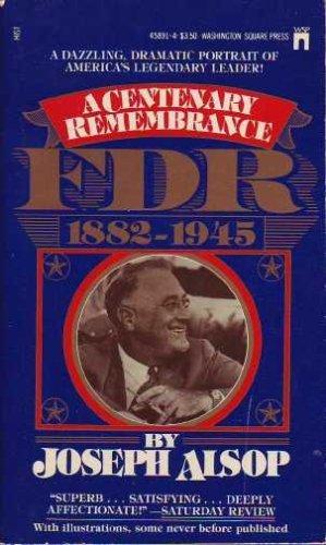 9780671458911: FDR, A Centenary Remembrance