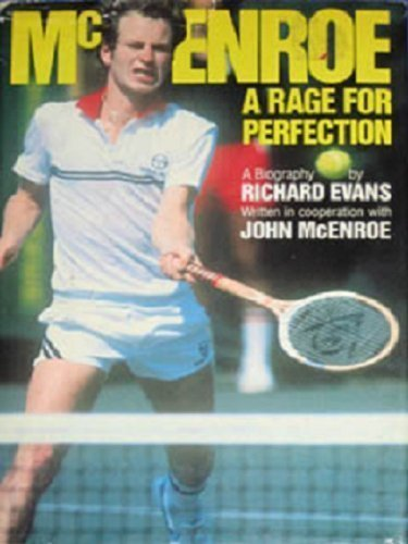 9780671459321: McEnroe: A Rage for Perfection