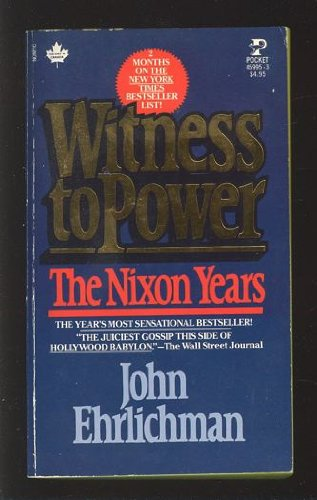 9780671459956: Witness to Power: The Nixon Years
