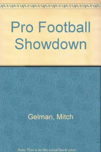 9780671460235: Pro Football Showdown (Play-It-Your-Way Sports Book, #2)