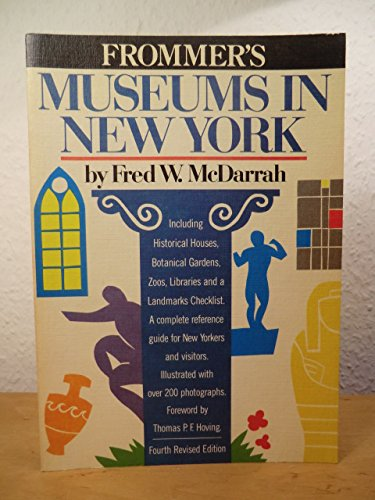 9780671460709: Museums in New York (Frommer's)