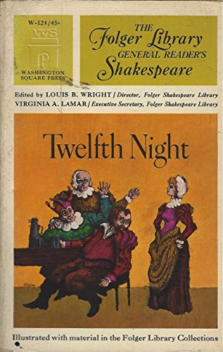 9780671461072: Title: Twelfth Night or What You Will The Folger General