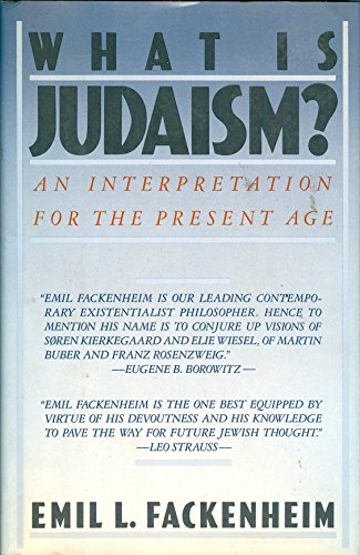 9780671462437: What Is Judaism: An Interpretation for the Present Age