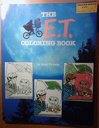 9780671464455: The E.T. Coloring Book