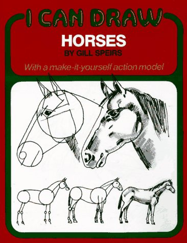9780671464479: I CAN DRAW HORSES