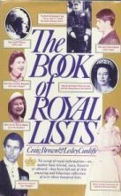 9780671465070: The Book of Royal Lists