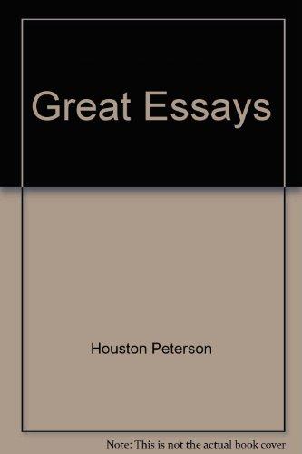 Great Essays: Houston Peterson