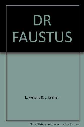 Stock image for Dr Faustus for sale by Better World Books