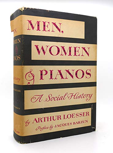 9780671468002: Men Women & Pianos a Social History 1ST Edition