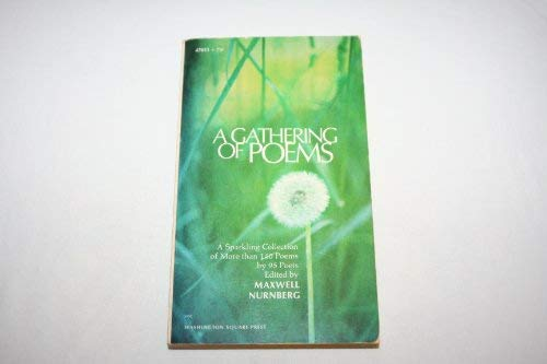 9780671470111: A Gathering of Poems