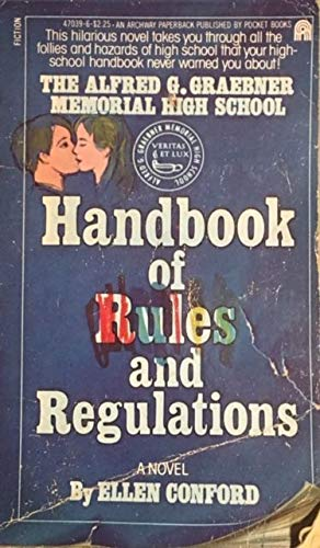 9780671470395: Alfred G. Graebner Memorial High School Handbook of Rules and Regulations