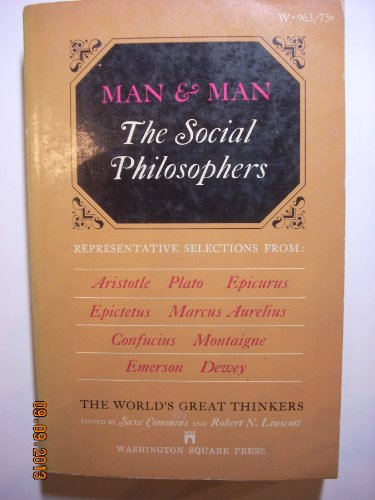 9780671470753: Man and Man the Social Philosophers