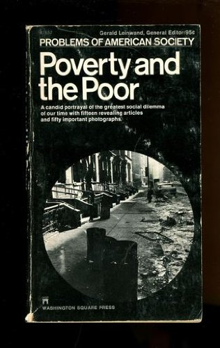 9780671471781: Poverty and the Poor