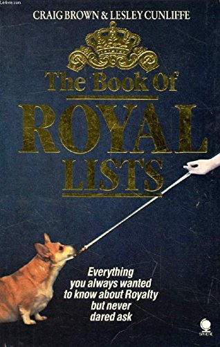 9780671472825: The Book of Royal Lists