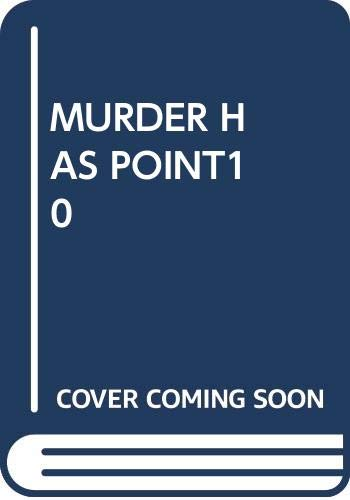 9780671473310: Murder Has Its Points