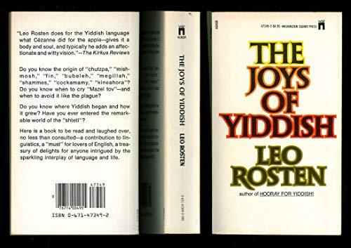 9780671473495: The Joys of Yiddish