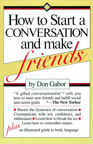 How To Start A Conversation And Make Friends: Gabor, Don