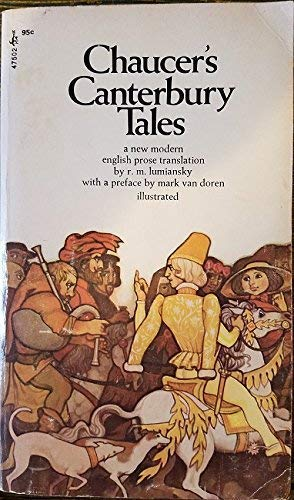 The Canterbury Tales (Washington Square Press Edition): Geoffrey Chaucer (Author);
