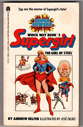 9780671475666: Supergirl: The Girl of Steel