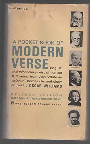 A Pocket Book of Modern Verse: Williams, Oscar