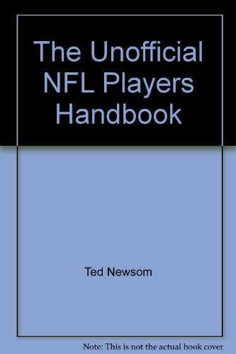 9780671476151: The unofficial NFL players handbook