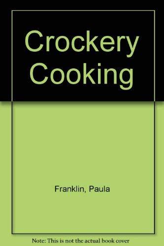 9780671476717: Crockery Cooking