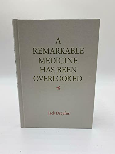 9780671476731: A Remarkable Medicine Has Been Overlooked